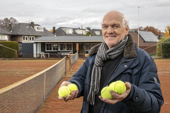 Gerard Steffens, de laatste voorzitter van Dikkers Tennis club.
