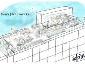 Dakkas, biertribune en kunstwerken met uitzicht: 'Tilburgse rooftop-bar is zo'n gaaf project'
