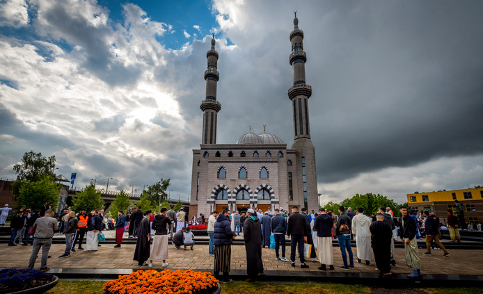 De Essalam Moskee in Rotterdam-Zuid