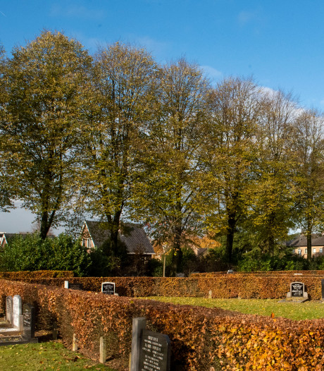 Wat is een passend ontwerp voor een appartementsgebouw naast de begraafplaats in Putten?