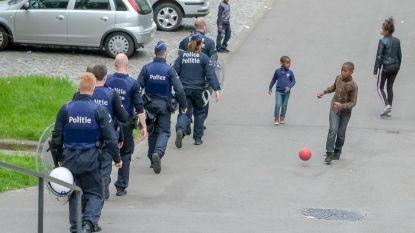 Boodschap is duidelijk: de politie is niet bang