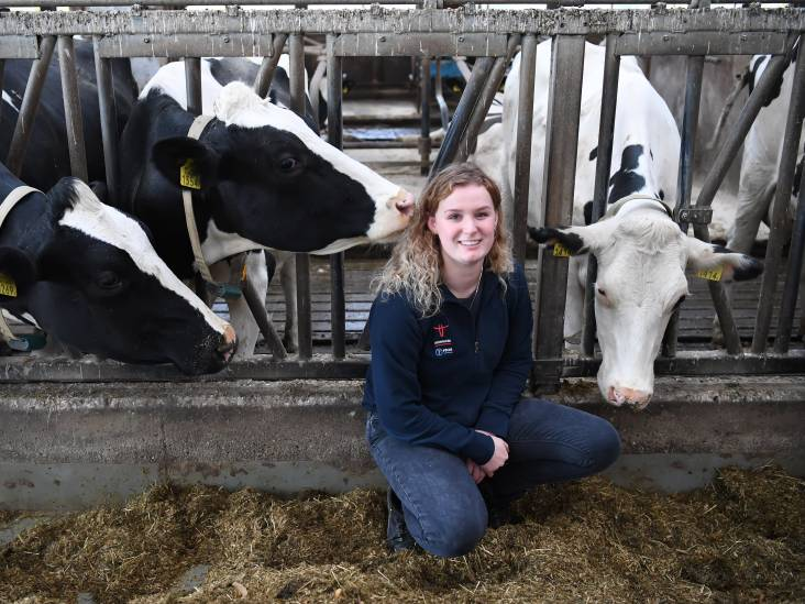 Sofie ging van burger naar boer: 'Koeien insemineren vies? Nee, juist mooi'