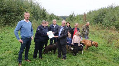 Petitie voor afgesloten hondenweide