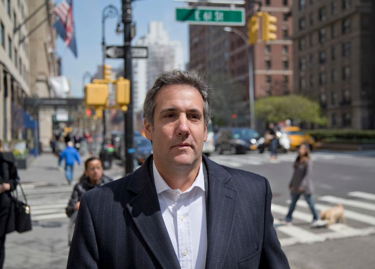 Michael Cohen in New York. Beeld AP