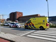 Fietser gewond na aanrijding bij rotonde Vlissingen