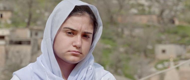 De 15-jarige Cemila. Beeld Yezidi Girls