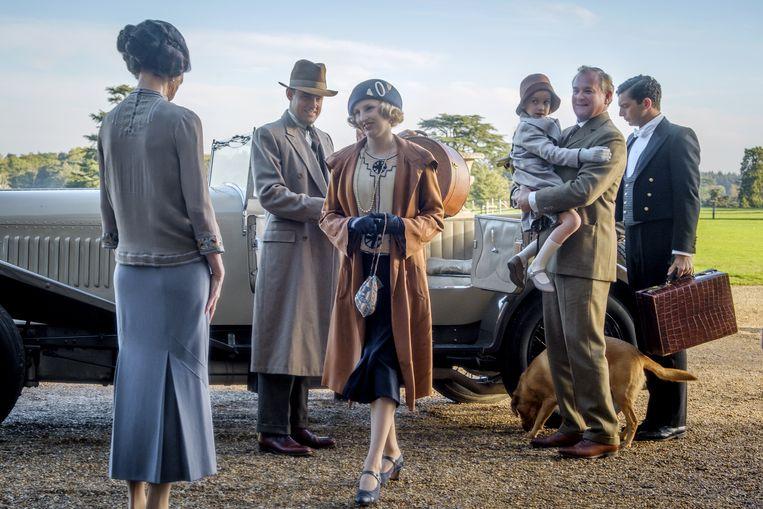 Downton Abbey is wereldwijd een succes.   Beeld Digital / 35mm