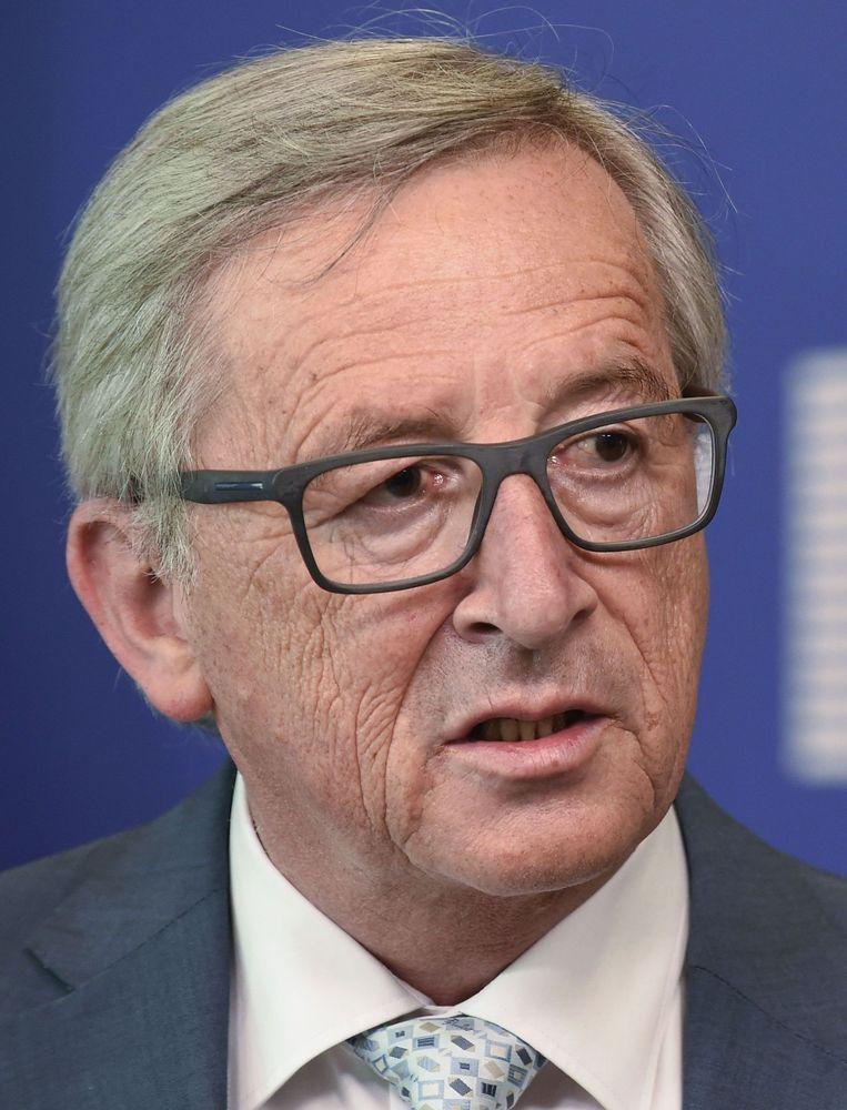 Jean-Claude Juncker kwam na de LuxLeaks-onthullingen onder vuur te liggen. Beeld afp