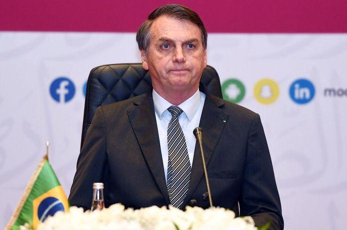 Le président brésilien Jair Bolsonaro.