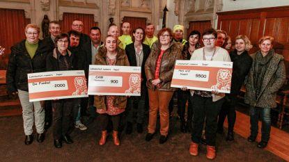 Loopclub 'De Lokomotief-runners' schenken 8.400 euro aan goede doelen