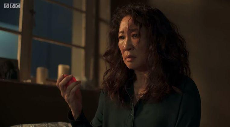 Ook het derde seizoen van 'Killing Eve' blijft verbazen. Beeld Trouw