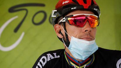 Philippe Gilbert heeft nog te veel last van de knie en past voor Ronde van Vlaanderen en Parijs-Roubaix