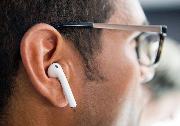 De draadloze AirPods van Apple