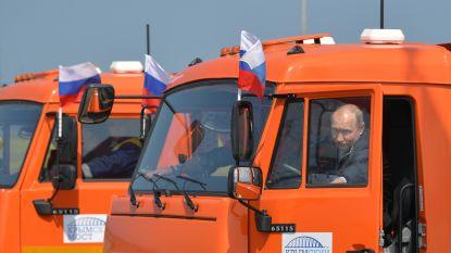 """""""Aanhoudende wil van Rusland om de internationale wetten met voeten te treden"""":  Washington veroordeelt brug naar Krim"""