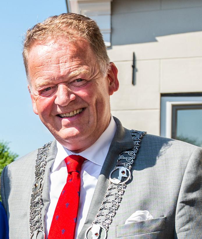 Burgemeester Roel Cazemier van de gemeente Krimpenerwaard/ter illustratie
