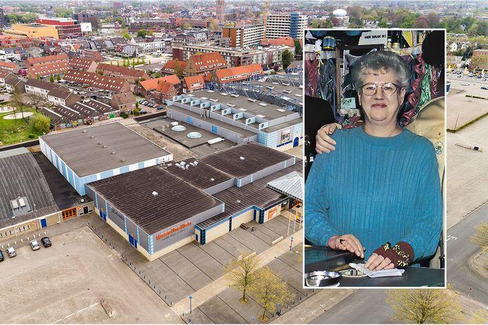De naam van Tonnie Meijberg komt mogelijk op een straatnaambordje in de Zwolse wijk Kamperpoort, op de plek van de IJsselhallen.