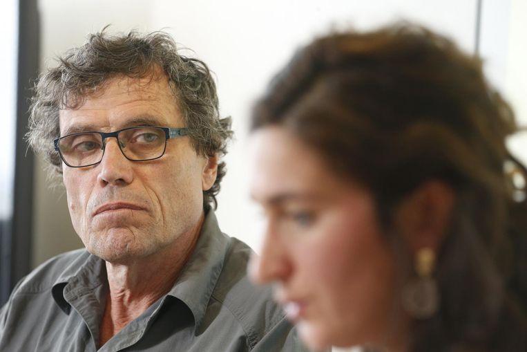 Poolreiziger Alain Hubert met Zuhal Demir.