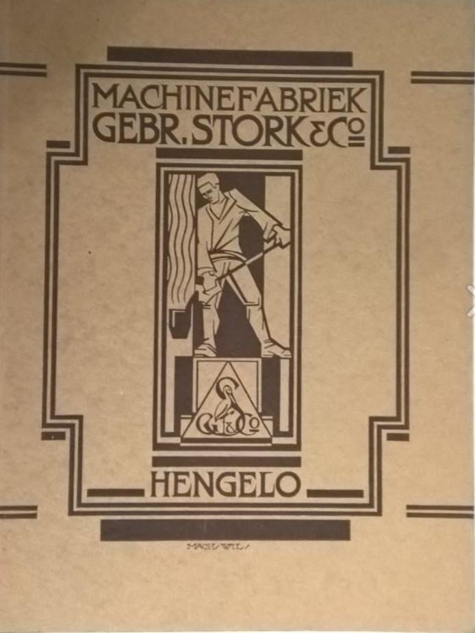 Oud-logo van Stork