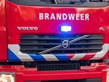 Brandende bestelbus op vluchtstrook leidt tot vertraging op A16: file opgelost