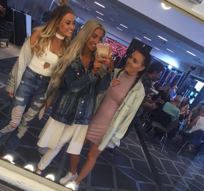Van links naar rechts: Tiffanie, Isabelle en Sandra. Foto: eigen foto