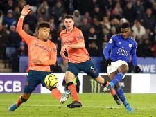 Leicester City blijft in spoor Liverpool na miraculeuze zege op Everton