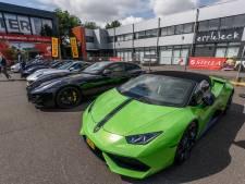 Bijzondere sportauto's trekken bekijks in Breda
