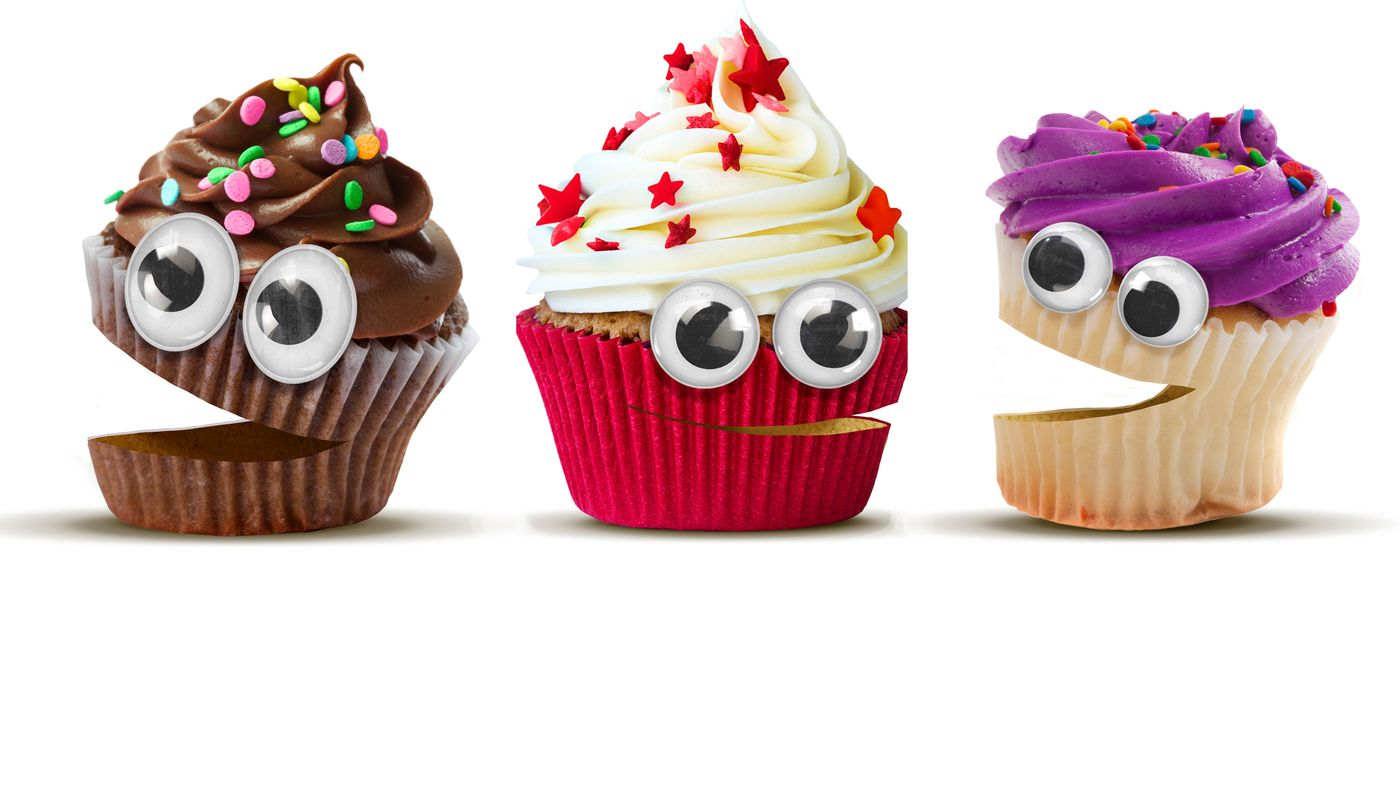 Funny Cup Cakes