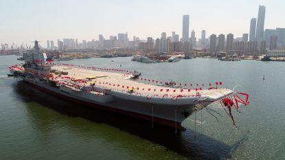 China's eerste zelfgebouwde vliegdekschip klaar voor tests op zee, volgende mastodonten staan al in de steigers