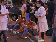 Medewerkers Nederlandse ambassade Beiroet gewond door explosie