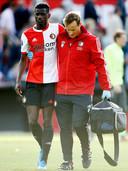 Edgar Ié werd na één groepstraining al fit genoeg bevonden om tegen FC Utrecht een helft mee te spelen.