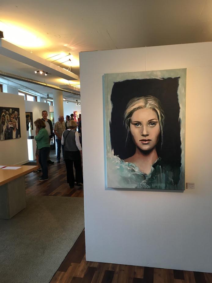 De expositie werd zondag geopend.