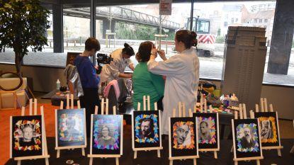 Leerlingen tonen kunst in wijkbibliotheken en in De Krook