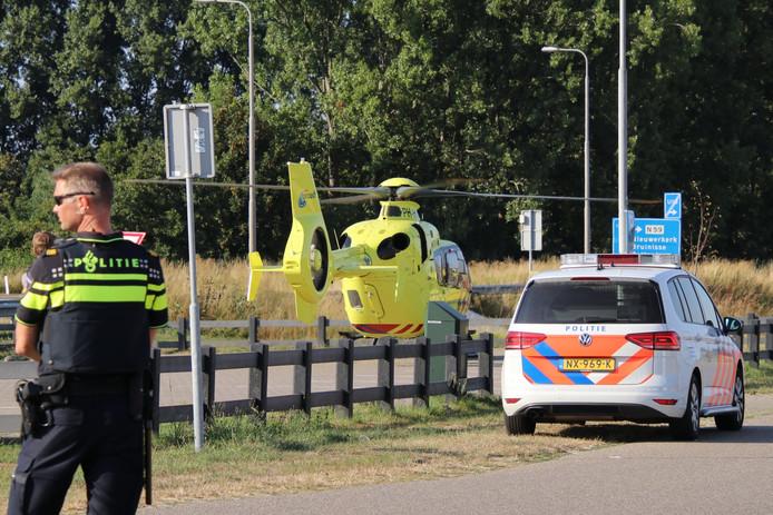 Voor een ongeval in Zonnemaire werd maandagavond de traumahelikopter opgeroepen.