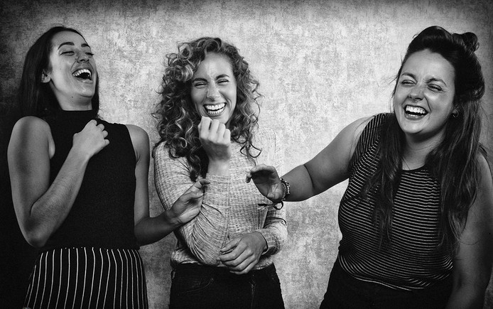 De Gestampte Meisjes is morgen te zien op het Misplaatste Grappen Festival.