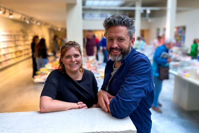 Zaakvoerders Sofie Van der Ven en Wim Cajot.