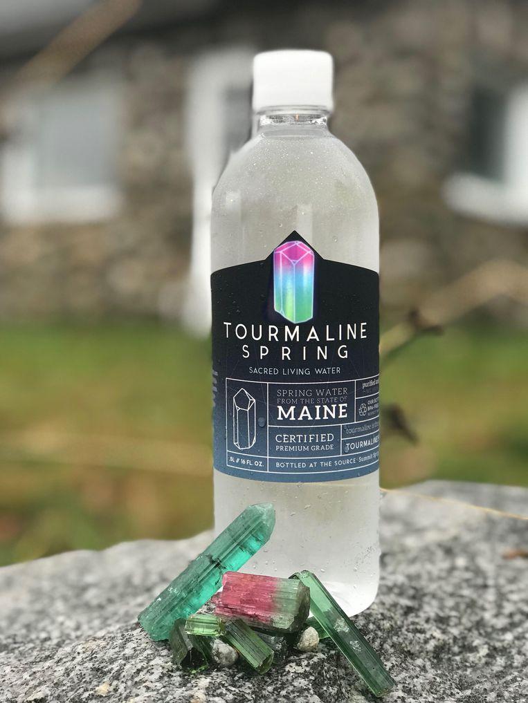 Tourmaline Spring, gebotteld 'rauw' water.