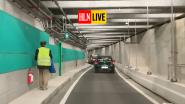HLN LIVE. Blinde voetganger op stap in nieuwe Antwerpse autotunnel