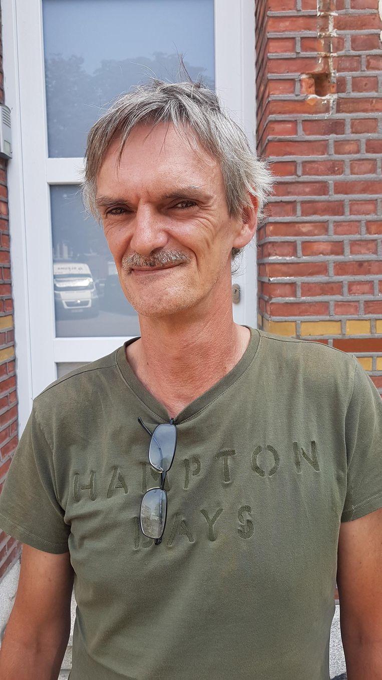 Wilfried Wouters hoorde plots een harde knal.