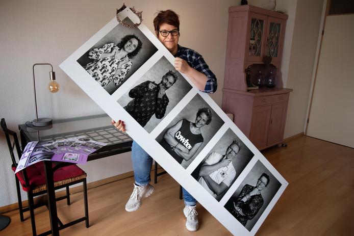 Annemarie Vriends portretteerde vijftig mensen die, net als zij, dit jaar vijftig jaar werden.