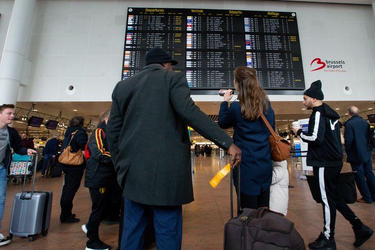 Beeld ter illustratie, Brussels Airport.