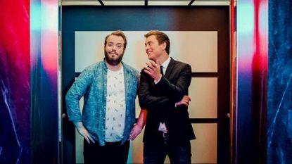 Dit is wat er gebeurt als Niels Destadsbader en Jens Dendoncker samen de lift nemen