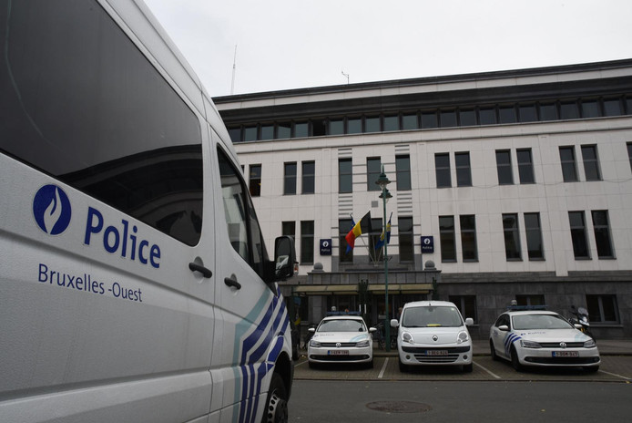Le commissariat de police de Molenbeek (archives).