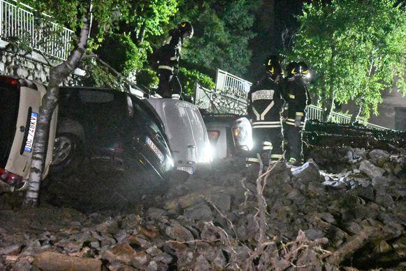 Er vielen geen gewonden, maar er is veel schade in verschillende delen van Italië.