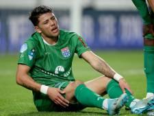 Hamstringblessure PEC Zwolle-speler Gustavo Hamer valt mee