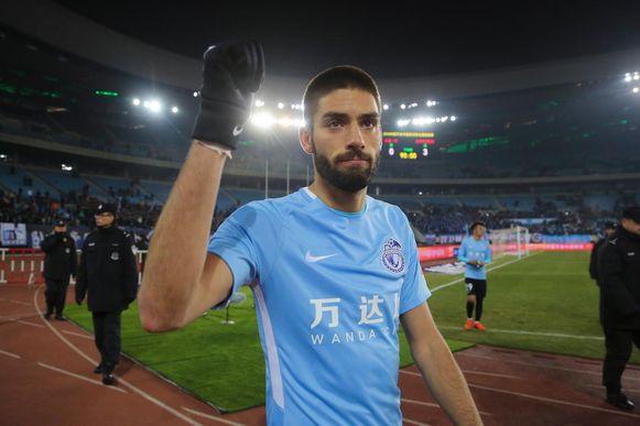 Yannick Carrasco gaf de assist bij het enige doelpunt.