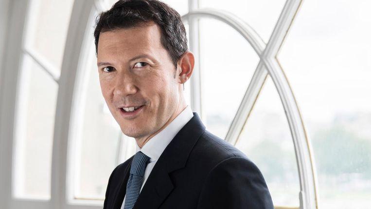 Topman Ben Smith van Air France-KLM wil KLM in het gareel krijgen door er commissaris te worden Beeld EPA