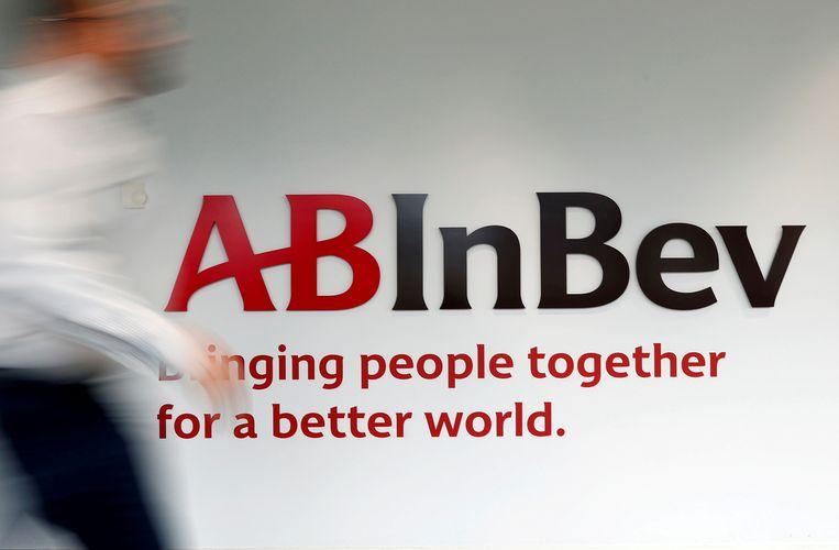 Het logo van AB-Inbev.