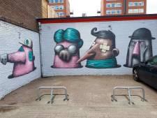 Graffitikunst nu ook op privé-eigendom in Hengelo
