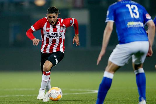 Maxi Romero heeft zich, mede door blessureleed, tot nu toe nog weinig kunnen laten zien bij PSV.