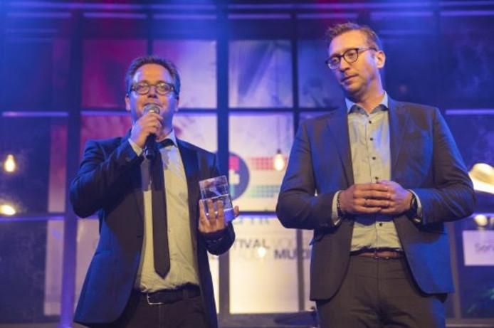 Guus Meeuwis en Wim van Limpt (CEO van Buma/Stemra).